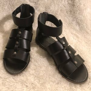 6c8575b5bb8b Madewell Rowan Gladiator Ankle Sandals Size 6.5